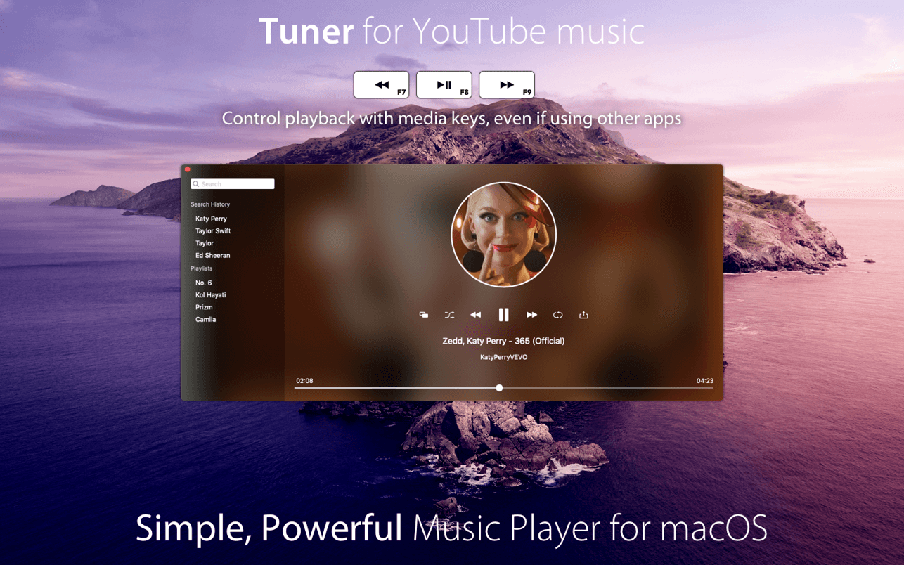 Tuner for YouTube
